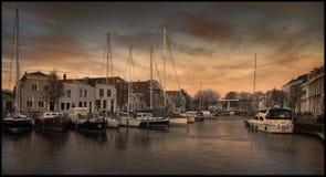 Hafen von geht, die Niederlande Stockfotos