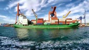 Hafen von Hafen Haydarpasa alias von Haidar Pasha stock video footage