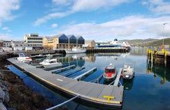 Hafen von Hammerfest lizenzfreie stockbilder
