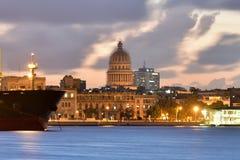 Hafen von Havana stockbild