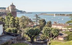 Hafen von Hondarribia Lizenzfreie Stockfotos