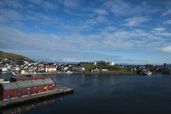 Hafen von Honningsvag Lizenzfreie Stockbilder