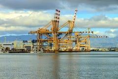 Hafen von Honolulu stockbilder