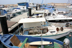 Hafen von Jaffa in Tel Aviv Stockfotos