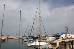 Hafen von Jaffa in Tel Aviv Stockbilder