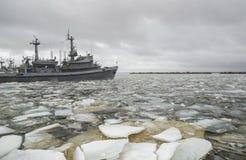 Hafen von Kronstadt Russland Stockfotos
