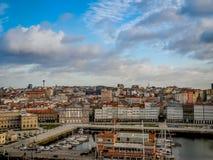 Hafen von La Coruna, Spanien stockfoto