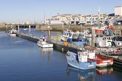 Hafen von La Turballe in Frankreich Lizenzfreies Stockbild
