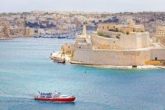 Hafen von Lascaris Stockbilder