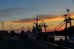 Hafen von Liepaja, Lettland Lizenzfreies Stockfoto