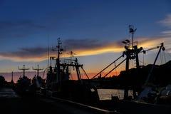 Hafen von Liepaja, Lettland Lizenzfreies Stockbild