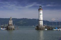 Hafen von Lindau Stockbilder