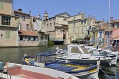 Hafen von Martigues in Frankreich lizenzfreies stockfoto