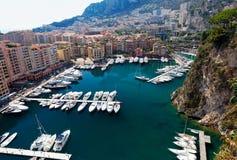 Hafen von Monaco   Lizenzfreie Stockfotos