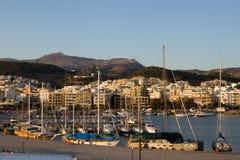 Hafen von Rethymnon Stockfoto