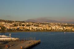 Hafen von Rethymnon Stockfotografie