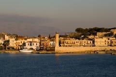 Hafen von Rethymnon Lizenzfreies Stockbild