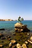 Hafen von Rhodos Lizenzfreie Stockbilder