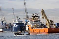 Hafen von Rotterdam Lizenzfreie Stockfotos