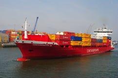 Am Hafen von Rotterdam lizenzfreies stockfoto