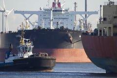 Hafen von Rotterdam, die Niederlande lizenzfreies stockbild