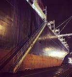 Hafen von Rotterdam-Schiff lizenzfreie stockbilder