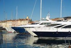 Hafen von Saint Tropez Lizenzfreie Stockfotos