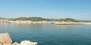 Hafen von San Benedetto del Tronto - Ascoli Piceno - Italien stockbilder