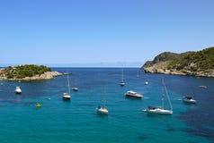 Hafen von San Miguel, Ibiza spanien Lizenzfreies Stockfoto