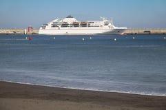 Hafen von San Sebastian de la Gomera Kanarische Inseln spanien Lizenzfreies Stockbild