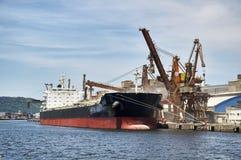 Hafen von Santos lizenzfreie stockfotografie
