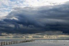 Hafen von Schutz in Darsser Ort Lizenzfreies Stockfoto