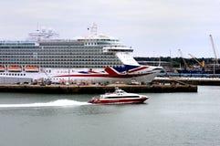 Hafen von Southampton Lizenzfreie Stockbilder