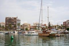Hafen von Torrevieja stockbilder