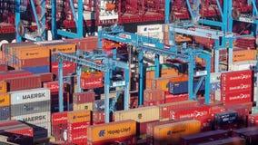 Hafen von Valparaiso, Chile stock video