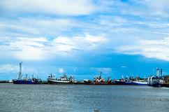 Hafen von Wladyslawowo in Polen lizenzfreie stockfotografie