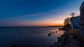 Hafen von yavaros Sonora lizenzfreie stockbilder