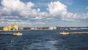 Hafen von Ystad Stockfotografie