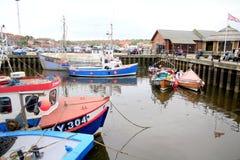 Hafen, Whitby, Yorkshire Lizenzfreie Stockbilder