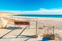 Hafen Willunga-Strandansicht, Adelaide Lizenzfreies Stockbild