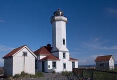 Hafen Wilson Lighthouse Stockfotografie