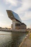 Hafen-Wohnungsbau, Antwerpen, Belgien stockfotografie