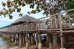 Hafen zu Phitak-Insel Stockbild