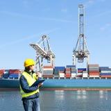 Hafenarbeiter Lizenzfreie Stockfotos