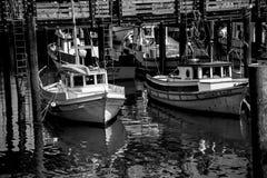 Hafenboote Lizenzfreies Stockbild