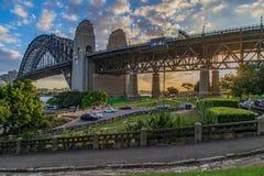 Hafenbrücke Sydney stockbilder