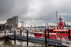 Hafencity汉堡 免版税图库摄影