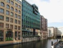 Hafencity à Hambourg Photographie stock