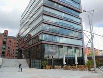 Hafencity à Hambourg Images libres de droits