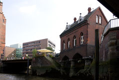 Hafencity του Αμβούργο Στοκ φωτογραφία με δικαίωμα ελεύθερης χρήσης